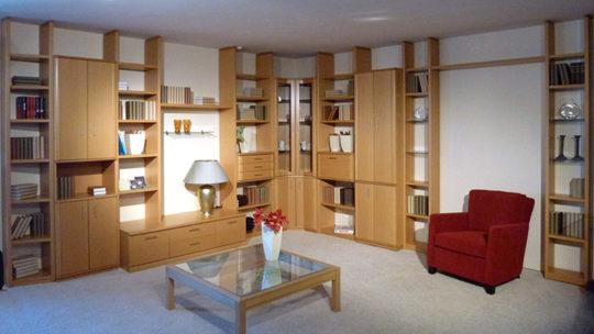 cubus wohnwand m bel braum. Black Bedroom Furniture Sets. Home Design Ideas