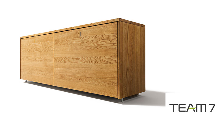 cubus sideboard eiche massiv m bel braum. Black Bedroom Furniture Sets. Home Design Ideas