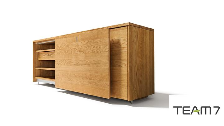 cubus sideboard eiche massiv m bel braum. Black Bedroom Furniture Sets. Home Design Ideas