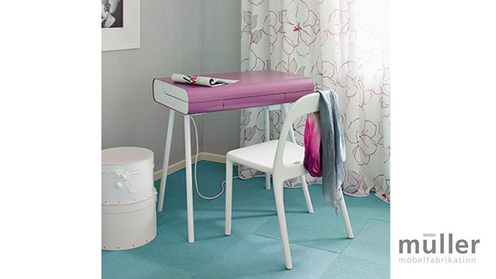 mueller st08 schminktisch rosa m bel braum. Black Bedroom Furniture Sets. Home Design Ideas