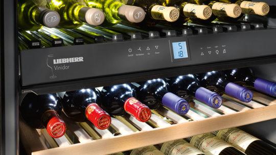 Liebherr Weinkühlschrank Details