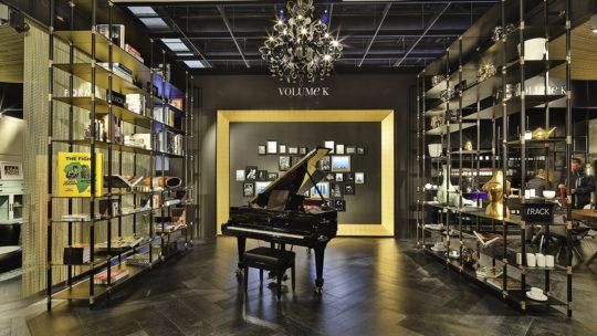 TRack in Klavierzimmer