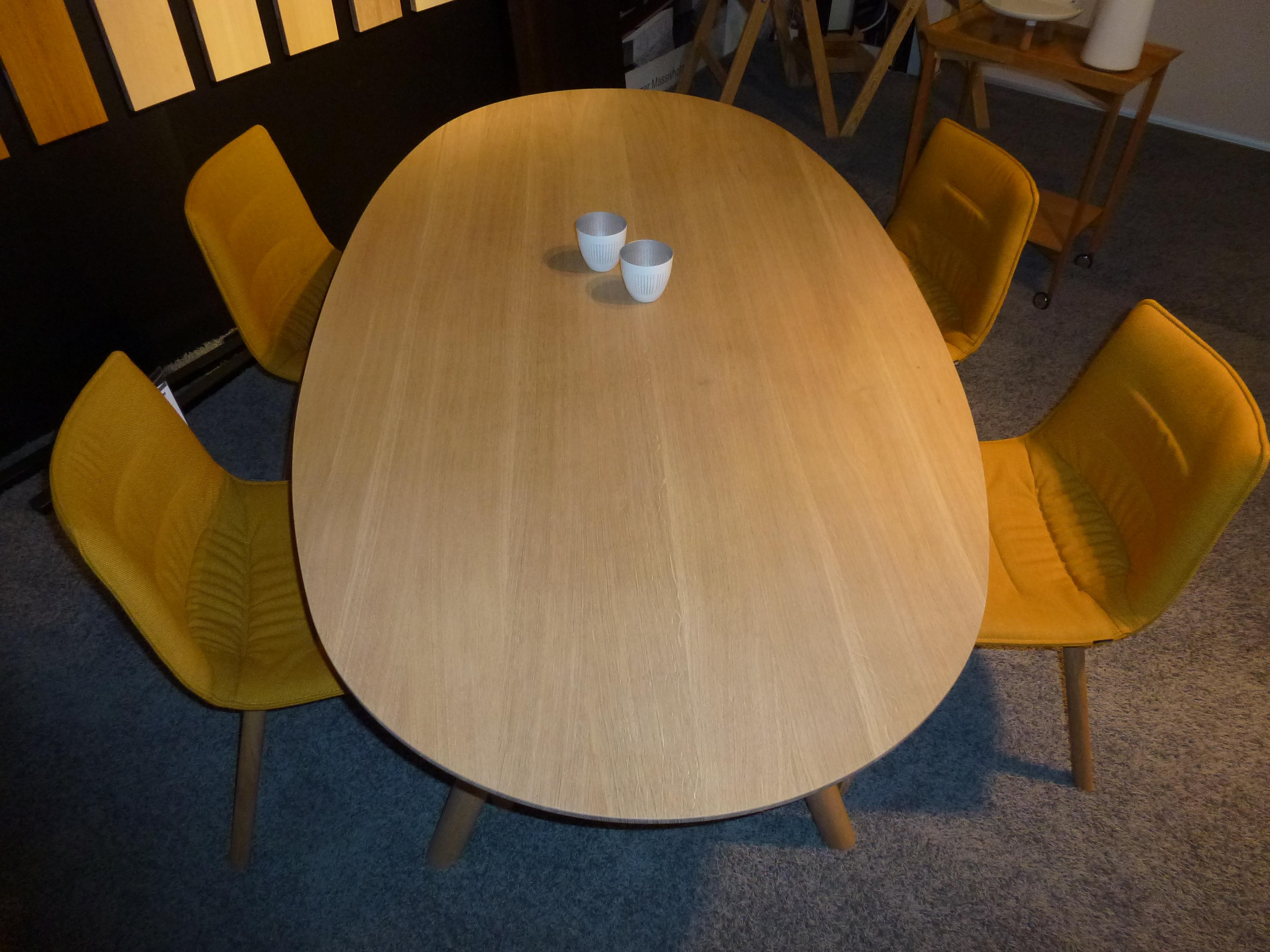 Möbel Braum Girsberger Tischgruppe Eiche