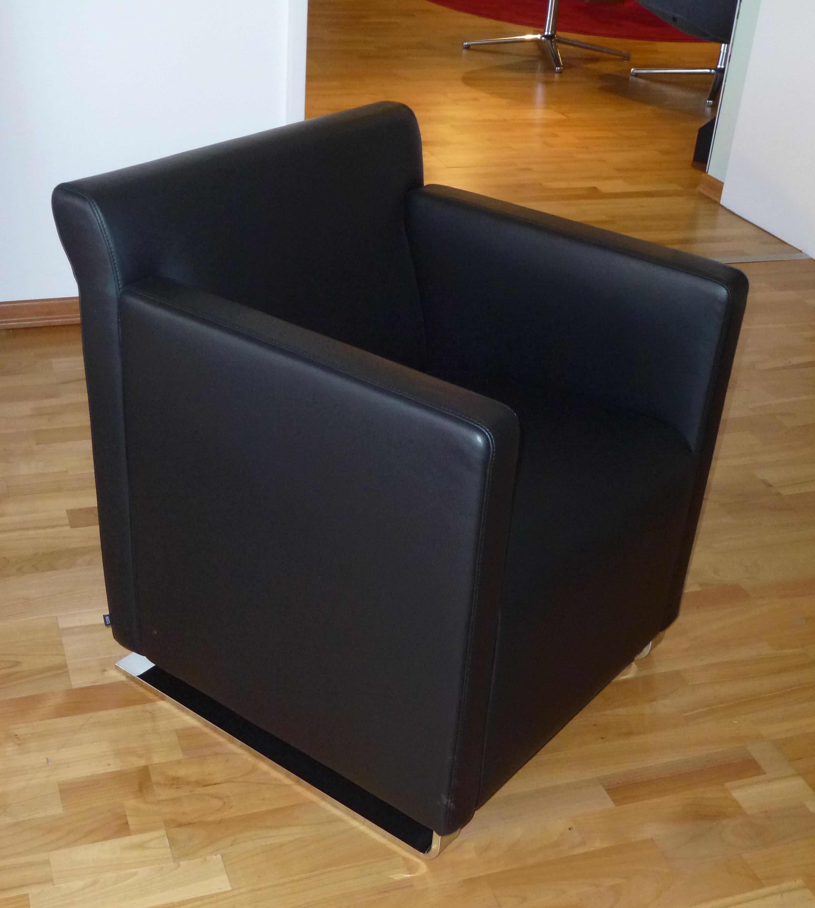 Möbel Braum COR Sessel Quant Leder